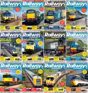 Railways Illustrated - 2016 Full Year Issues Collection
