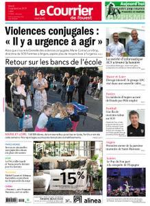 Le Courrier de l'Ouest Angers – 03 septembre 2019