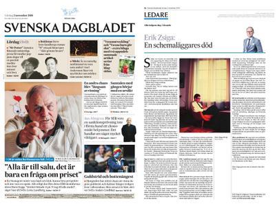 Svenska Dagbladet – 02 november 2019