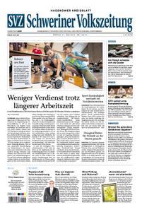 Schweriner Volkszeitung Hagenower Kreisblatt - 21. Juni 2019