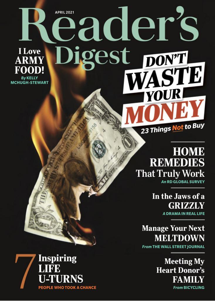 Reader's Digest USA - April 2021