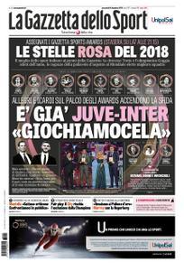 La Gazzetta dello Sport Roma – 05 dicembre 2018