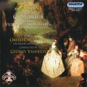 Tartini - Four Concertos for Violin and Orchesta (Gyorgy Vashegyi) (2002) {Hungaroton} (REPOST)