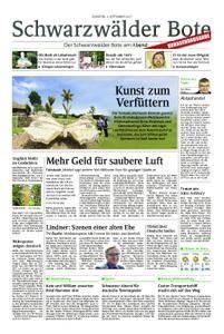 Schwarzwälder Bote St. Georgen, Triberg, Furtwangen - 05. September 2017