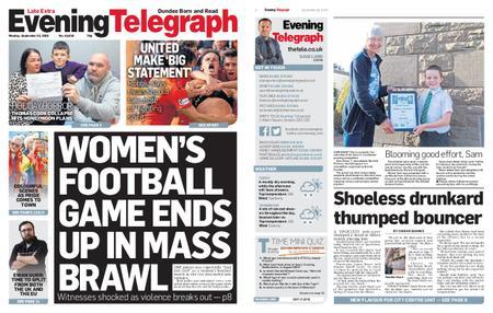 Evening Telegraph First Edition – September 23, 2019