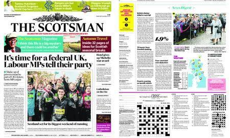 The Scotsman – September 30, 2017