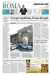 Corriere della Sera Roma – 04 settembre 2019