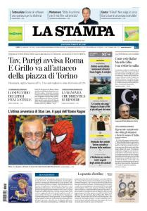La Stampa Torino Provincia e Canavese - 13 Novembre 2018