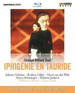 "William Christie, Orchestra ""La Scintilla"" of the Zurich Opera House - Gluck: Iphigenie en Tauride (2016/2001) [BDRip]"
