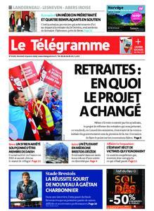 Le Télégramme Brest Abers Iroise – 24 janvier 2020