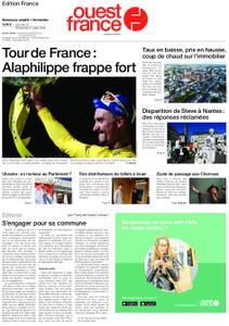 Ouest-France Édition France – 20 juillet 2019