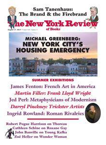 The New York Review of Books - August 17, 2017