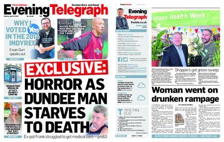 Evening Telegraph First Edition – April 15, 2019