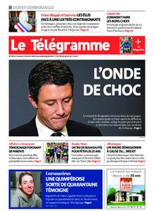 Le Télégramme Ouest Cornouaille – 15 février 2020
