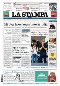 La Stampa Imperia e Sanremo - 27 Novembre 2017