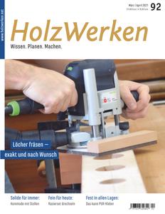 HolzWerken - März/April 2021