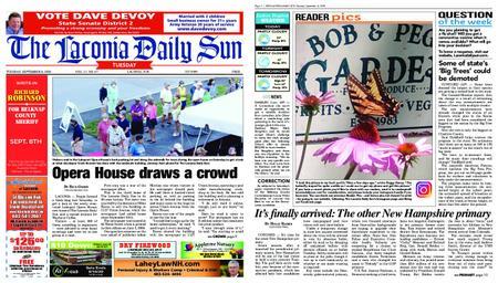 The Laconia Daily Sun – September 08, 2020