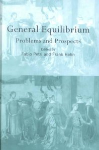 General Equilibrium. Problems and Prospects