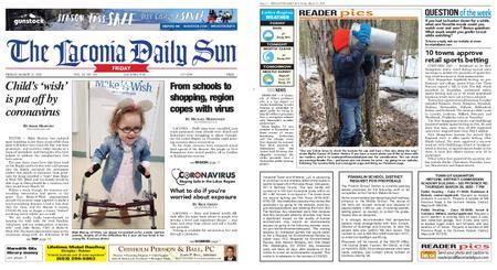 The Laconia Daily Sun – March 13, 2020