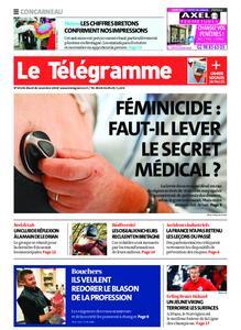 Le Télégramme Concarneau – 26 novembre 2019