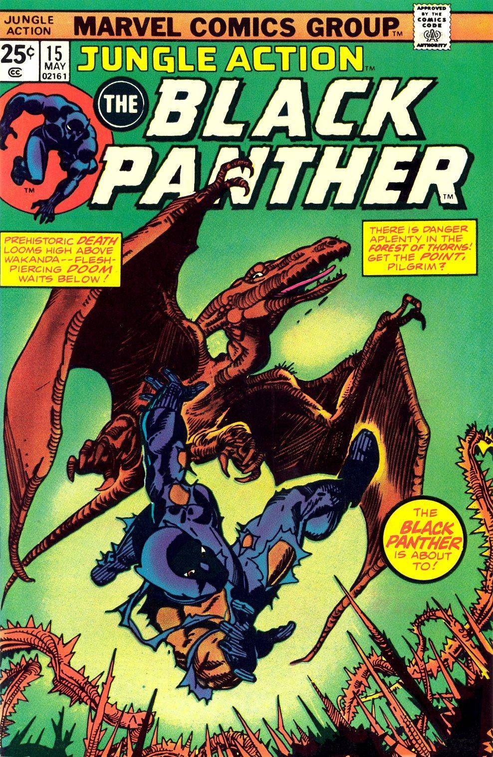 Jungle Action v2 015 featuring Black Panther
