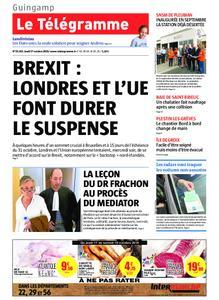 Le Télégramme Guingamp – 17 octobre 2019