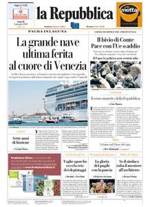 la Repubblica – 03 giugno 2019