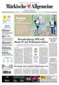 Märkische Allgemeine Prignitz Kurier - 31. März 2018
