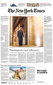 International New York Times - 3 June 2019