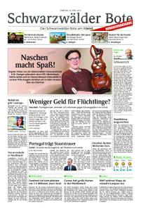 Schwarzwälder Bote Albstadt-Ebingen - 20. April 2019