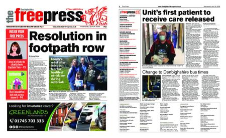 Denbighshire Free Press – April 29, 2020