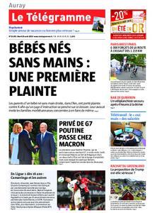 Le Télégramme Auray – 20 août 2019
