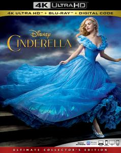Cinderella (2015) [4K, Ultra HD]