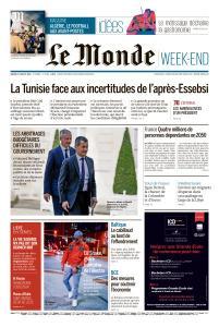 Le Monde du Samedi 27 Juillet 2019