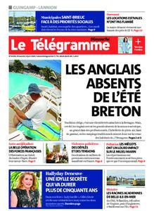 Le Télégramme Guingamp – 14 juin 2020