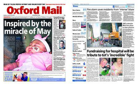 Oxford Mail – January 29, 2018