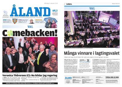 Ålandstidningen – 21 oktober 2019