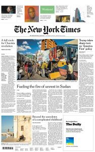 International New York Times - 26-27 January 2019