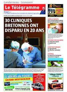 Le Télégramme Landerneau - Lesneven – 13 mai 2019
