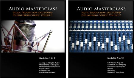The Audio Masterclass Music Production and Sound Engineering Course [repost]