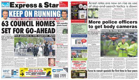 Express and Star Sandwell Edition – April 25, 2018