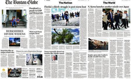 The Boston Globe – September 15, 2017