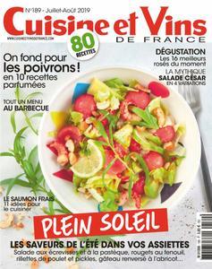 Cuisine et Vins de France - juillet 2019