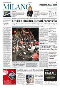 Corriere della Sera Milano - 13 Gennaio 2018