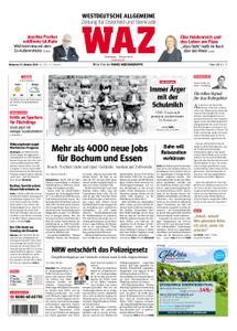 WAZ Westdeutsche Allgemeine Zeitung Oberhausen-Sterkrade - 10. Oktober 2018