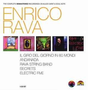 Enrico Rava - The Complete Remastered Recordings on Black Saint & Soul Note (2010) {5CD Set CAM Jazz BXS1002 rec 1972-1994}