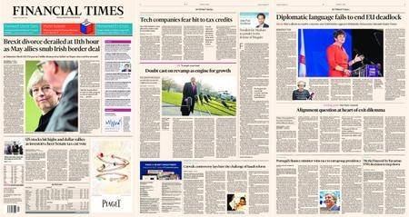 Financial Times Europe – 05 December 2017