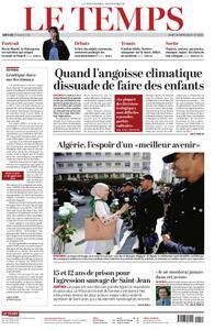 Le Temps - 14 mars 2019