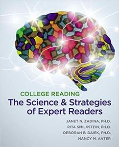 College Reading: The Science and Strategies of Expert Readers