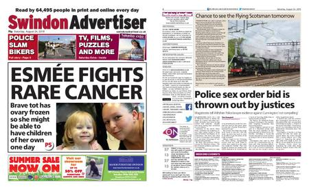 Swindon Advertiser – August 24, 2019